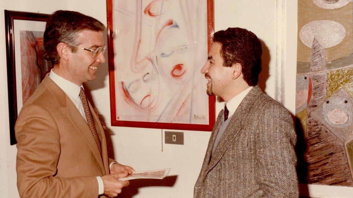 Memorie d'artista: La prima personale alla Galleria  Siris